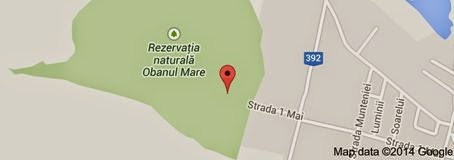 Pestera Movile. Locatia pe Google Maps