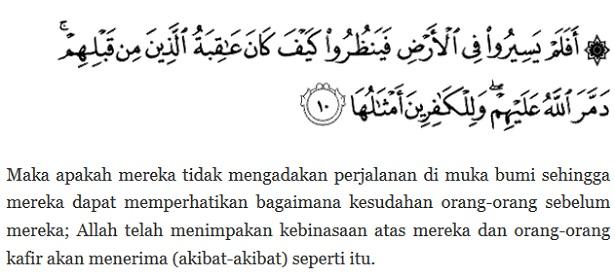Agama Islam dan Peringatan kepada orang - orang kafir - berbagaireviews.com