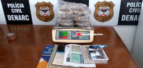 OPERAÇÃO FHORTES II: Denarc prende trio que abastecia bocas de fumo com quase 10 quilos de drogas