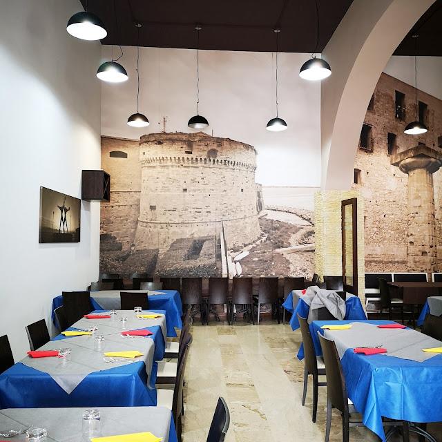 Interno del ristorante sociale Art.21