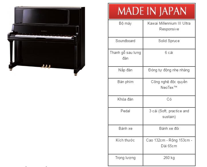dan piano kawai k-8