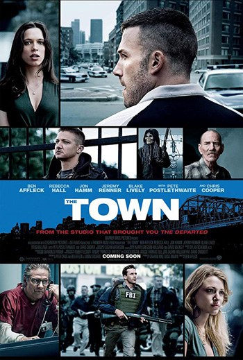 The Town 2010 Dual Audio ORG Hindi 480p BluRay 450MB poster