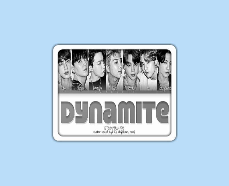 BTS (방탄소년단) – Dynamite Lyrics