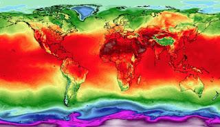 ALERTA MUNDIAL: el mes de julio fue el mas caluroso de la tierra.