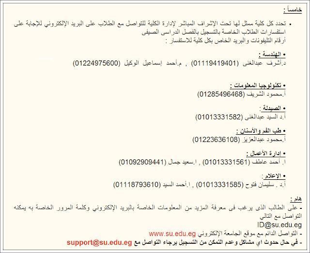 مصروفات وتنسيق كليات جامعة سيناء الخاصه 2016 وشروط التقديم والقبول بها