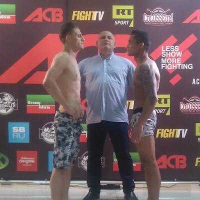 Registrense Júnior Preto vence competição de MMA na Rússia