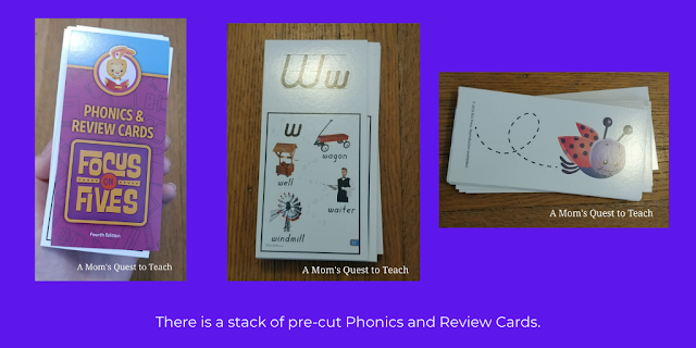 Focus on Fives Phonics cards