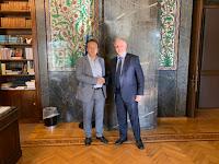 Ο βουλευτής Φλώρινας κ. Γιάννης Αντωνιάδης είχε συνάντηση με τον Πρόεδρο της Βουλής των Ελλήνων κ. Κώστα Τασούλα