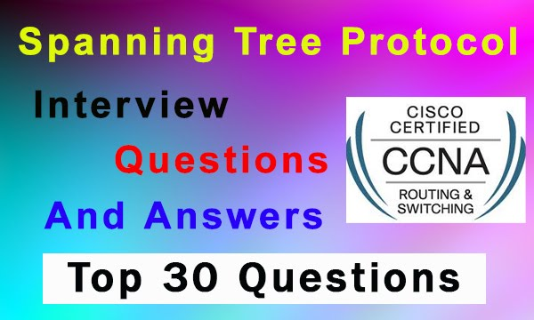 CCNA STP Interview Questions and Answer