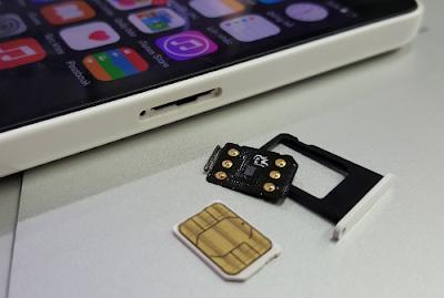 Cách sử dụng sim ghép iPhone 5