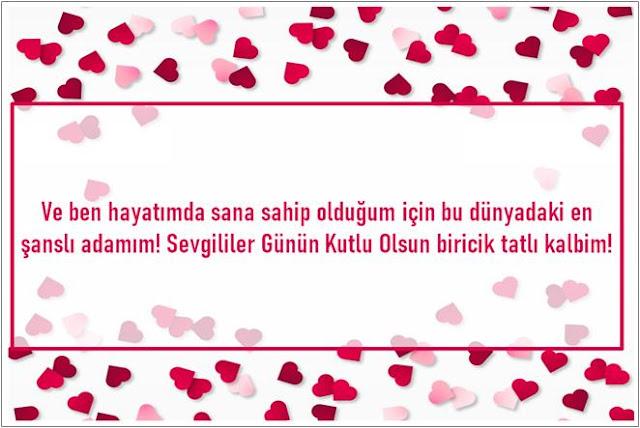 romantik sevgililer günü mesajı