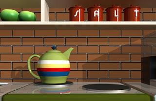 Green Kitchen Escape