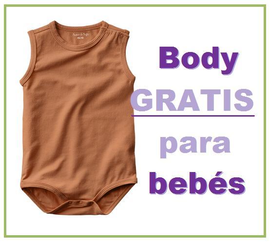 Body gratis para bebés