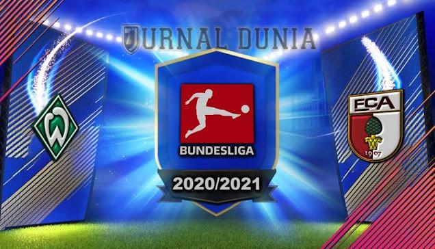 Prediksi Werder Bremen vs Augsburg, Sabtu 16 Januari 2021 Pukul 21.30 WIB @Mola TV