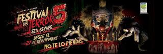 FESTIVAL DEL TERROR 5 Parque Salitre Magico Bogota 2019