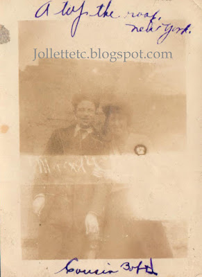 Robert Byrnes and Helen Killeen New York City 1919 https://jollettetc.blogspot.com