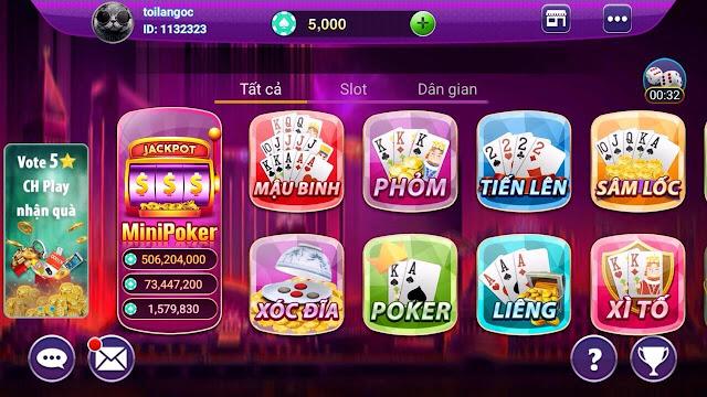 Cách chơi đánh bài online trên mobile tại k8 casino