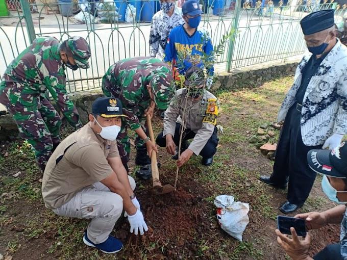 Antisipasi Pemanasan Global, Tiga Pilar Sukmajaya Tanam 40 Bibit Pohon