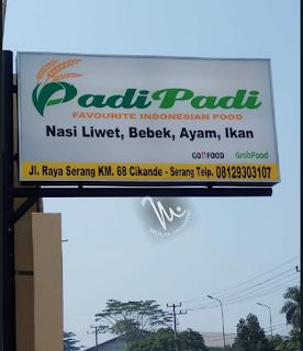 Huruf timbul Acrylic  Neonbox PADI PADI Cikande Serang