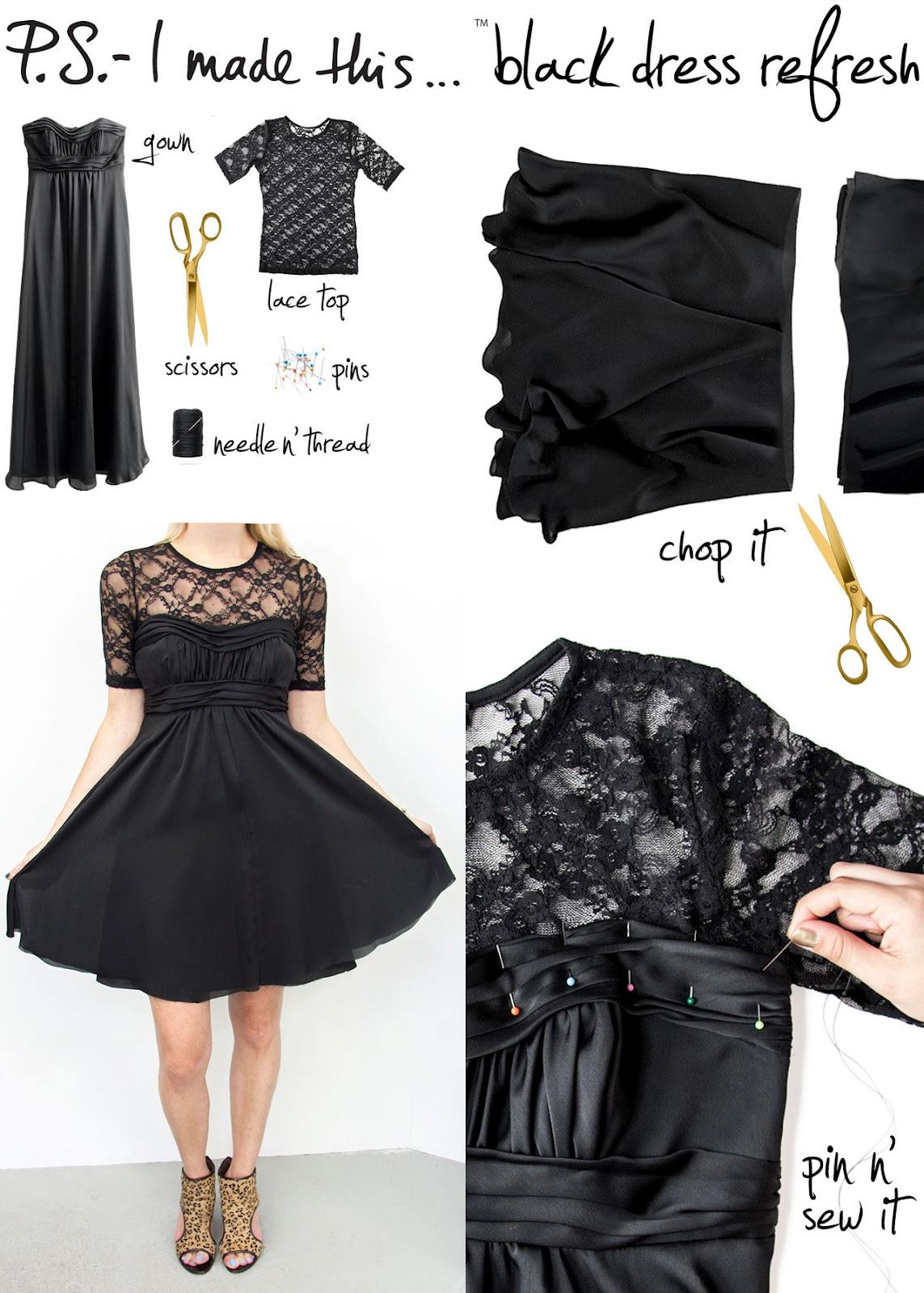 9ae6c5fee Toques e Retoques: Retoque seu vestido - DIY