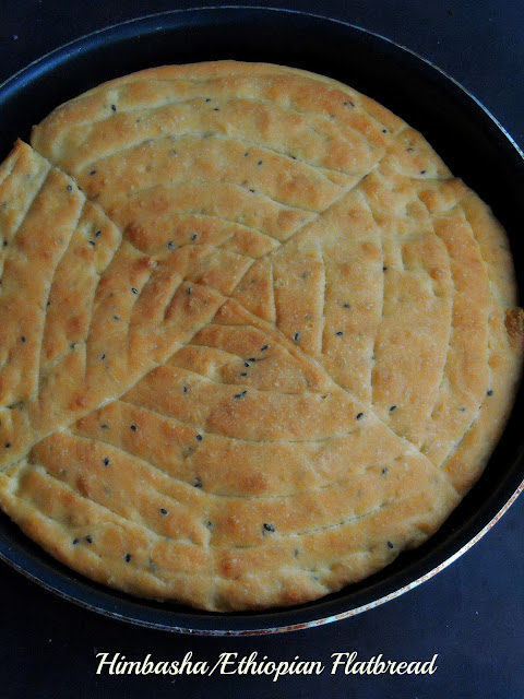 Himbasha, Ethiopian Flatbread