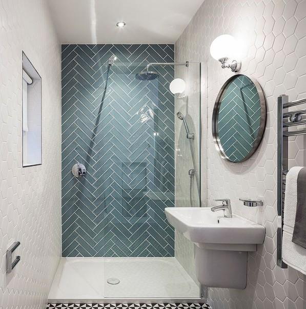 Small Bathroom Dimensions - 10 Latest Small Bathroom