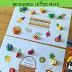 Fruit & Veggies Beginning Letter Sounds Activity