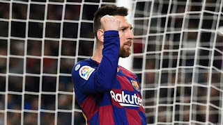 Messi Equals CR7's Hat-trick Record
