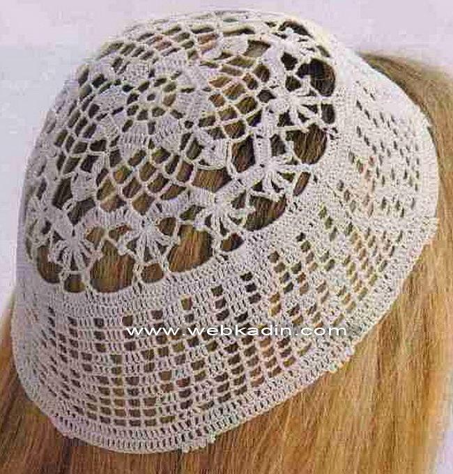 Gorros Turcos de Oracion en Crochet Patrones