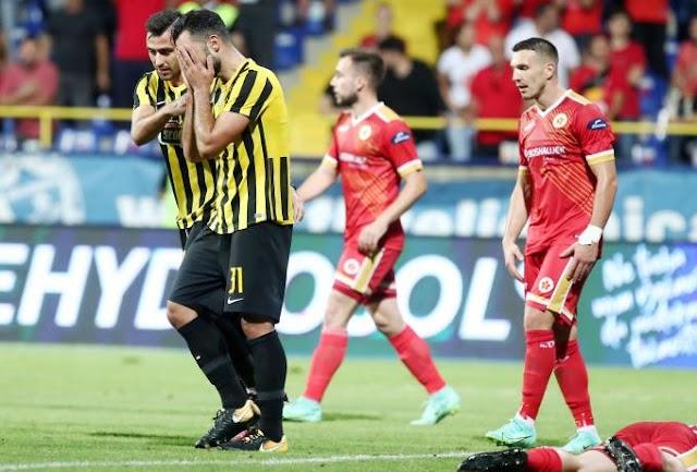 Βελέζ Μόσταρ-ΑΕΚ 2-1 : Όλα θα κριθούν στο ΟΑΚΑ