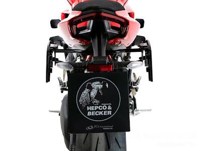 ヘプコ&ベッカー サイドソフトケースホルダー(キャリア)「C-Bow」 DUCATI StreetFighter V4/S