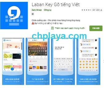 Tải Laban Key Apk bàn phím gõ tiếng Việt cho Android miễn phí a