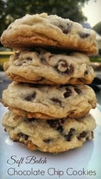OMG! Soft Batch Chocolate Chip Cookies