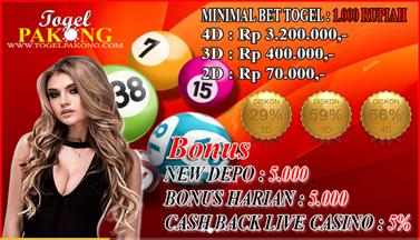 Menang 1 Permainan Dan Dapat Jackpot Yang Besar Bersama Togelpakong.com