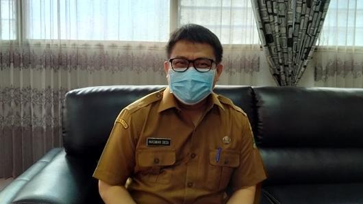 Selain Penyemprotan Disinfektan, ASN di DPMPST Sumbar Wajib Pakai Masker