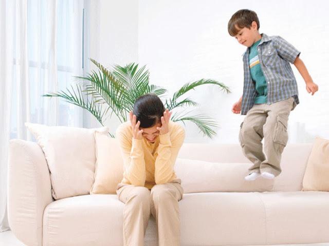 النشاط الزائد عند الأطفال أسبابه وعلاجه.