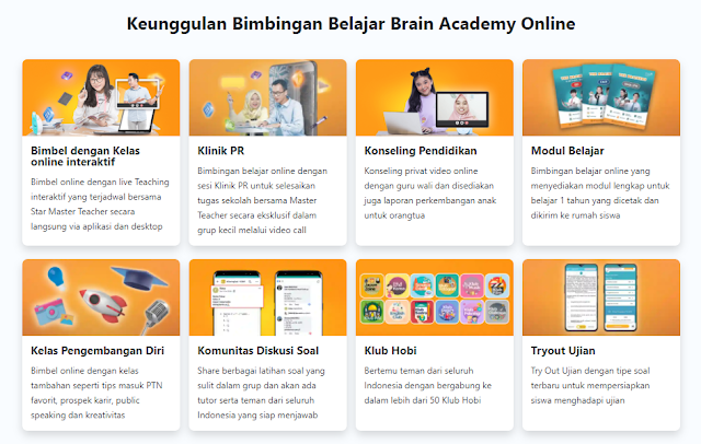 brain academy bimbel online