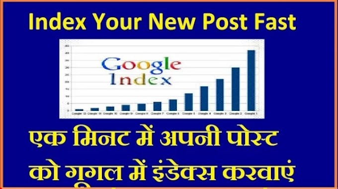 Blog post ko search Engine me fast index kaise kare,