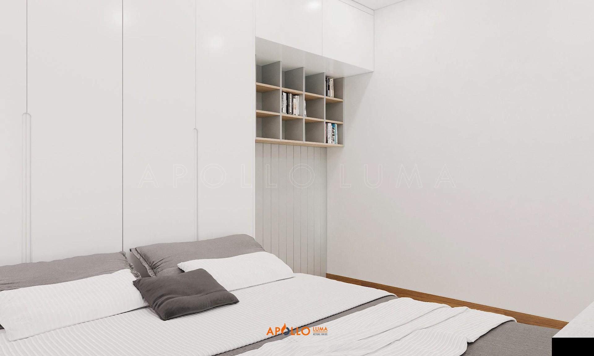 Thiết kế nội thất căn hộ 2 phòng ngủ Premier Berriver Long Biên