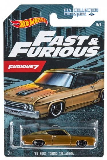 Hot Wheels, Fast & Furious, 69 Ford Torino Talladega