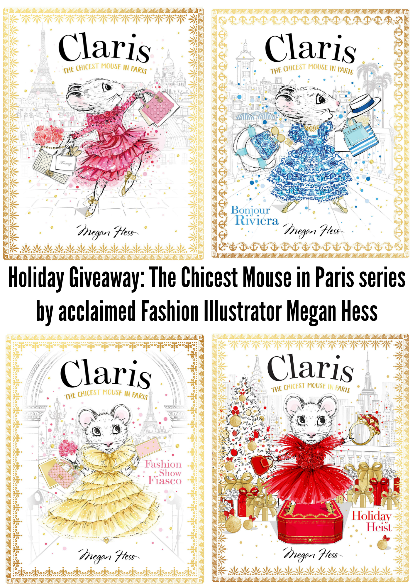 The Chicest Mouse in Paris series