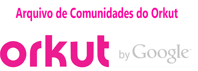 Arquivo de comunidades do Orkut