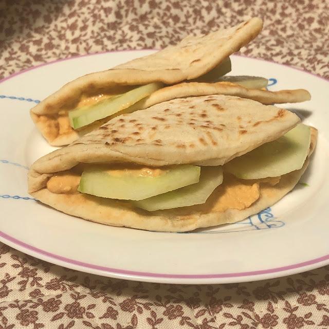 Greek style flatbread