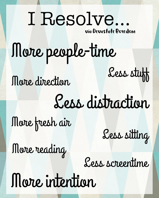 New Year's Resolutions Inspirational Printable via Devastate Boredom -- #FridayFrivolity memes and fun!