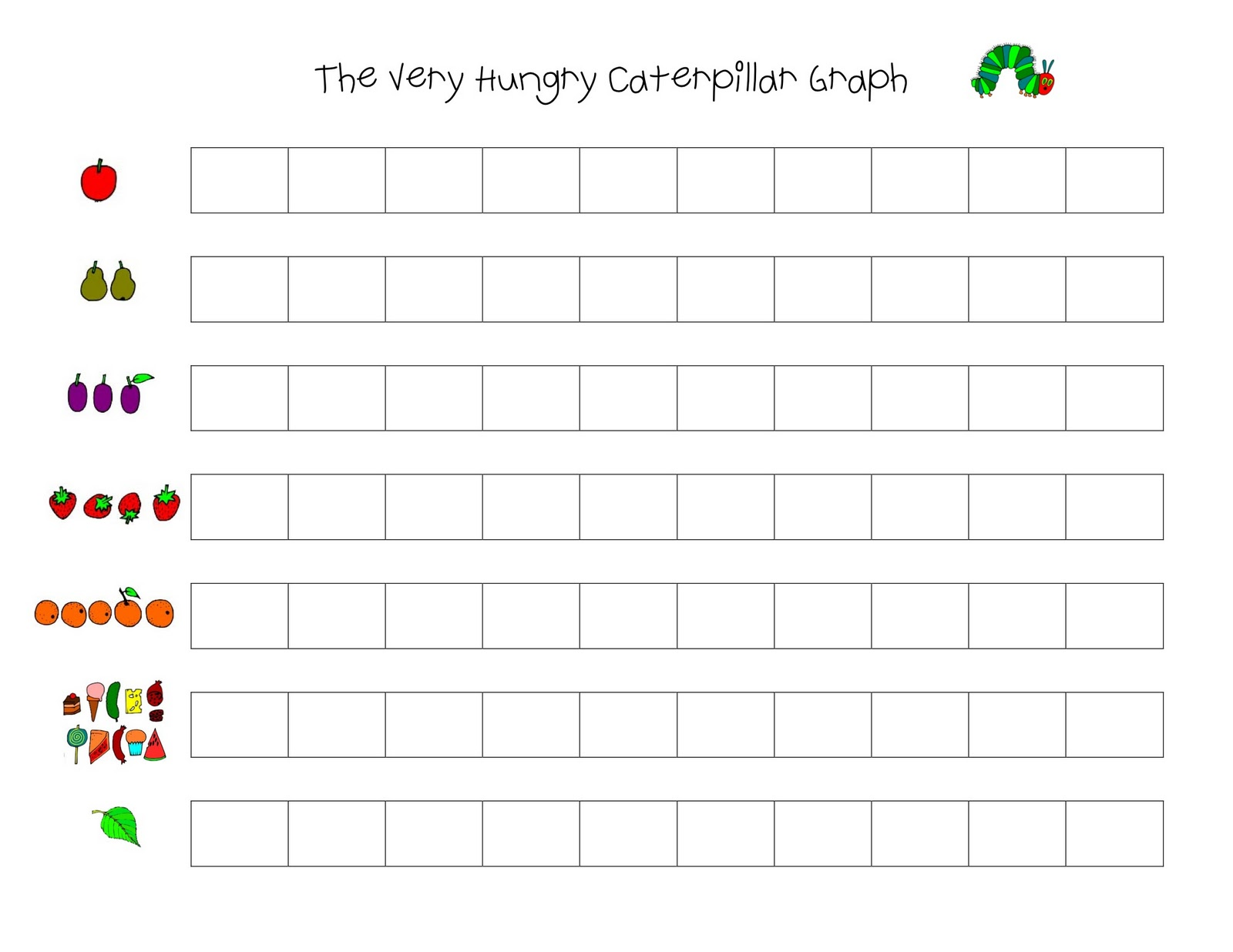 Save Green Being Green Preschool Theme The Very Hungry Caterpillar