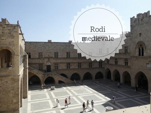 Cosa vedere nella città medievale di Rodi il palazzo dei cavalieri
