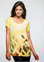 Bluză sic cu o formă simplă de tricou (bonprix)