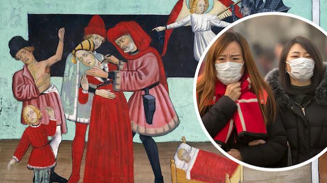 Warga China Terjangkit Wabah Maut Hitam yang Pernah Bantai Eropa