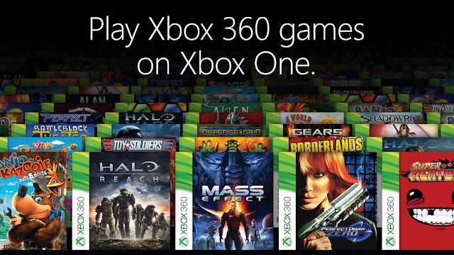 الكشف عن المزيد من الألعاب لخدمة التوافق في جهاز Xbox One