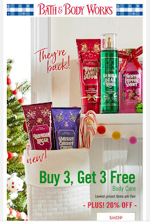 Bath & Body Works | Today's Email - November 4, 2019